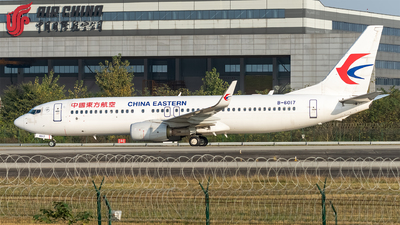 A picture of B6017 - Boeing 73789P - China Eastern Airlines - © DY-76
