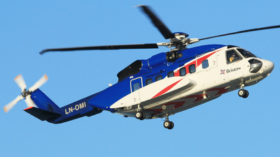 LN-OMI - Sikorsky S-92A Helibus - Bristow Norway