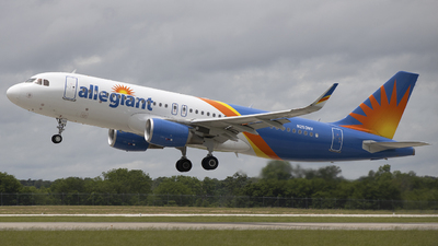 A picture of N253NV - Airbus A320214 - Allegiant Air - © Andrew Hutnyan