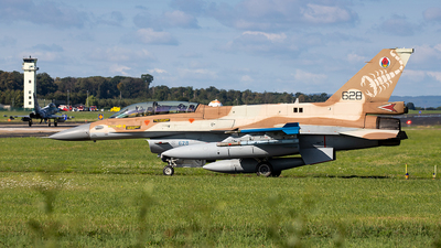628 - General Dynamics F-16D Barak - Israel - Air Force