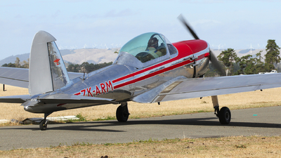 ZK-ARM - De Havilland Canada DHC-1 Chipmunk 22 - Private