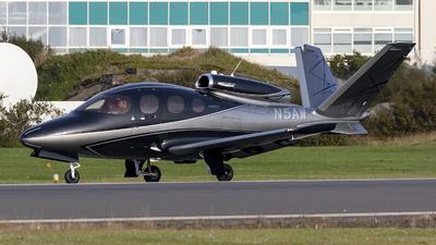 N5AW - Cirrus Vision SF50 - Private