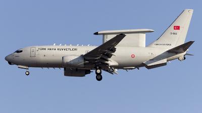 13-002 - Boeing 737-7ES Peace Eagle - Turkey - Air Force