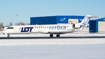 ES-ACK - Bombardier CRJ-900LR - LOT Polish Airlines (Nordica)