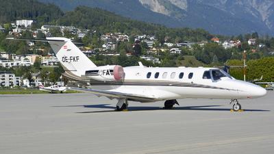 A picture of OEFKF - Cessna 525A CitationJet CJ2+ -  - © Maximilian Gruber