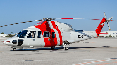 4X-BIY - Sikorsky S-76C++ - Lahak Aviation