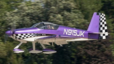 A picture of N915JK - Van's RV7A - [72507] - © Eric Page Lu