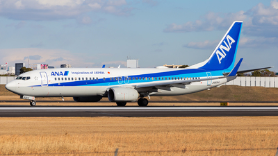 JA80AN - Boeing 737-881 - All Nippon Airways (ANA)