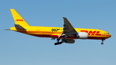 A picture of DAALM - Boeing 777F - DHL - © Oliver Richter