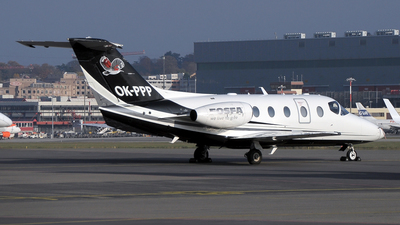 OK-PPP - Beechcraft 400XP Beechjet - Time Air