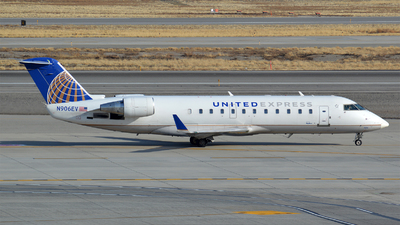 A picture of N906EV - Mitsubishi CRJ200LR - United Airlines - © Justin Lawrence