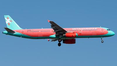 UR-WRJ - Airbus A321-231 - Windrose Air