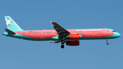 A picture of URWRJ - Airbus A321231 - Windrose Airlines - © Turkay Oksuz