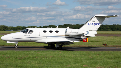 G-FBKK - Cessna 510 Citation Mustang - Wijet