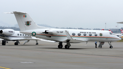 TU-VAF - Gulfstream G-III - Ivory Coast - Air Force