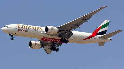 A picture of A6EFS - Boeing 777F1H - Emirates - © nsxr_