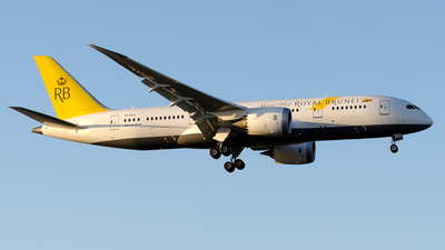 V8-DLA - Boeing 787-8 Dreamliner - Royal Brunei Airlines