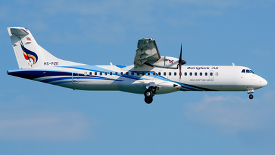 HS-PZE - ATR 72-212A(600) - Bangkok Airways