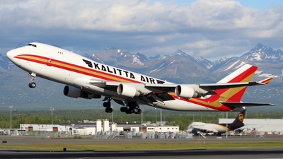 A picture of N705CK - Boeing 7474B5(F) - Kalitta Air - © Rylee Hope