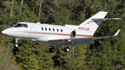 N963JB - Hawker Beechcraft 900XP - Private