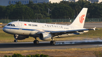 A picture of B6237 - Airbus A319115 - Air China - © SS8-0002