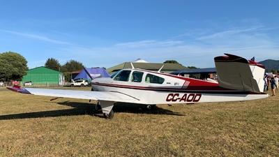 CC-AOD - Beechcraft V35B Bonanza - Private