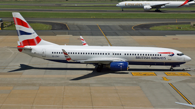 ZS-ZWU - Boeing 737-8BK - British Airways (Comair)