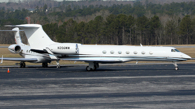 N356WW - Gulfstream G550 - Private