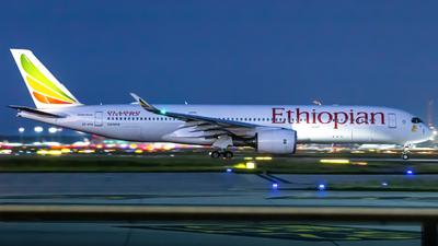 ET-AYA - Airbus A350-941 - Ethiopian Airlines