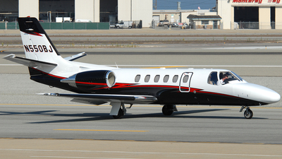 N550BJ - Cessna 550 Citation II - Private