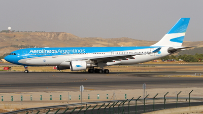 A picture of LVFVH - Airbus A330202 - Aerolineas Argentinas - © Marcel Schmidt