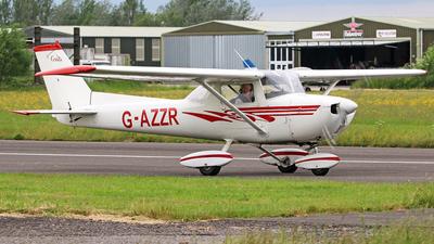 G-AZZR - Reims-Cessna F150L - Private