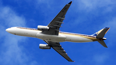 9V-SSC - Airbus A330-343 - Singapore Airlines