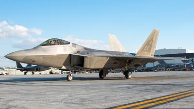 07-4138 - Lockheed Martin F-22A Raptor - United States - US Air Force (USAF)