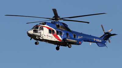 A picture of GCGUA - Airbus Helicopters H225 - Bristow Helicopters - © Ian Howat