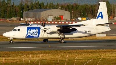 SE-MFD - Fokker 50(F) - Amapola Flyg