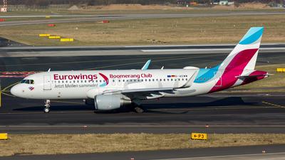 D-AEWM - Airbus A320-214 - Eurowings
