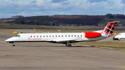 G-SAJK - Embraer ERJ-145EP - Loganair