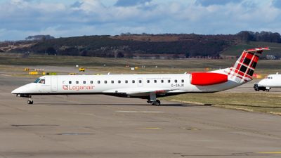 A picture of GSAJK - Embraer ERJ145EP - Loganair - © Ethan Hew - p_nilly