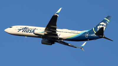A picture of N549AS - Boeing 7378FH - Alaska Airlines - © Huy Do
