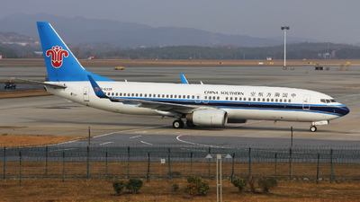 A picture of B5339 - Boeing 73781B - China Southern Airlines - © Franklin-Wu