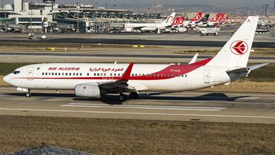 7T-VJL - Boeing 737-8D6 - Air Algérie