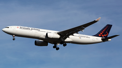 OO-SFF - Airbus A330-343 - Brussels Airlines