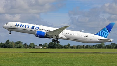 N14011 - Boeing 787-10 Dreamliner - United Airlines