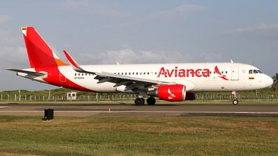N742AV - Airbus A320-214 - Avianca