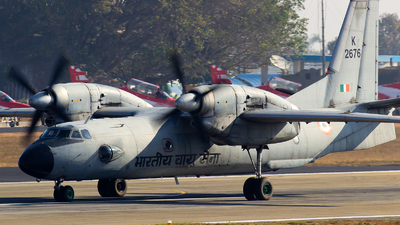 K2676 - Antonov An-32 - India - Air Force