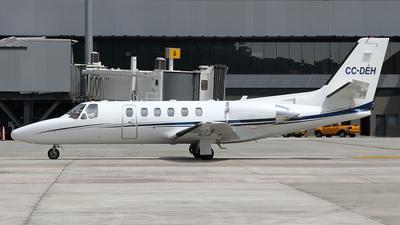 CC-DEH - Cessna 550B Citation Bravo - Private