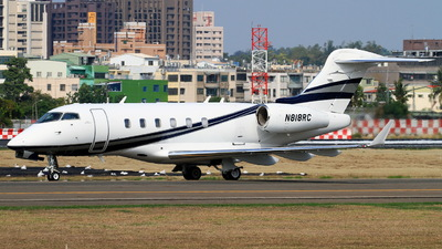 A picture of N818RC - Bombardier Challenger 300 - [20165] - © ERIC-CHEN