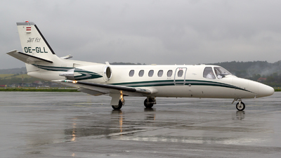 OE-GLL - Cessna 550B Citation Bravo - Jet Fly