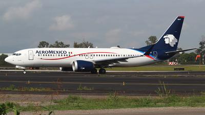 XA-MAY - Boeing 737-8 MAX - Aeromexico